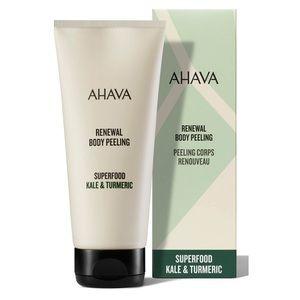AHAVA Dead Sea Kale & Turmeric Body Peel Scrub NIB